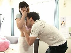 Asuka Shiratori Asian has tits sucked and ass chee...