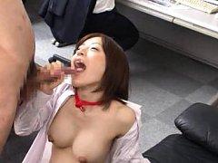 Aya Sakurai Asian with big and firm cans gives off...