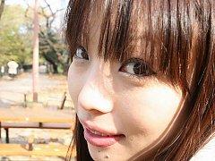 Sweet Teen Asuka Takdeai before her first porn sho...