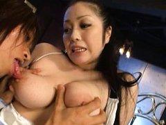 Minako Komukai Asian has big hooters roughly treat...