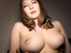 Momoka Nishina Asian has fine tits fondled and nip...