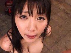 Yuuri Himeno Asian with huge bazoom bas gets sperm...