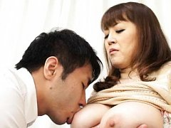 Nami Horikawa Asian has nipples of huge cans sucke...
