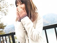 Saki Tsuji Cute Asian teen smiles and gets naked o...