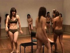 Japanese AV Model with gals playing games and loos...