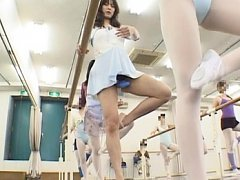 Natsumi Horiguchi practices dancing and gets horny...