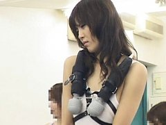 Natsumi Horiguchi gets teased in public with vibra...