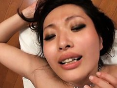 Japanese AV Model and babes get cum on face after...