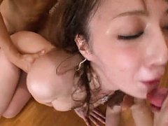 Cool Kaede Fuyutsuki is skinny and horny babe that...