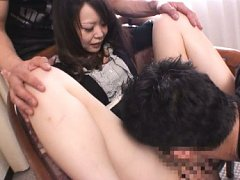 Shy AV Model spreads her legs and relaxes for a cu...