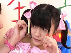 Japanese AV Model is a shy and sexy princess in fl...