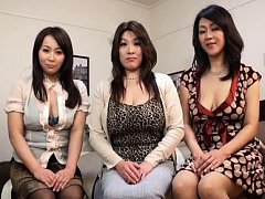 Japanese AV Model and ladies with generous boobs s...