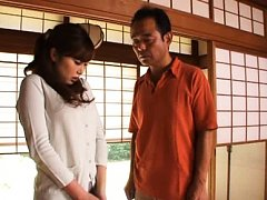 Rio Hamasaki Asian takes clothes off and tries to...