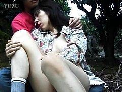 Tomoko Uehara Asian with bee stings has pussy rubb...