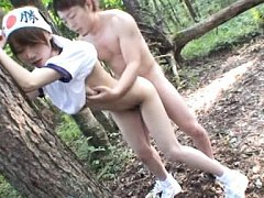 Mio Oichi Asian is doggy screwed and has tits sque...