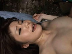 Miki Itoh Asian with big jugs gets cum in mouth at...