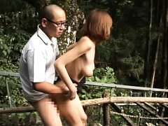 Suimire Matsu Asian is all nude and doggy pumped i...