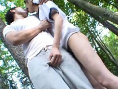 Mio Oichi Asian has hairy cunt fingered and sucks...