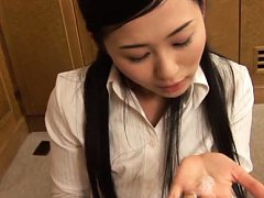 Mio Kitagawa Asian is so good at slurping and suck...
