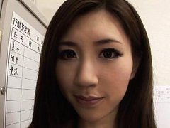 Arisa Aizawa Asian with pretty face has to suck he...
