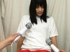 Japanese AV Model has hands in belts and teased wi...