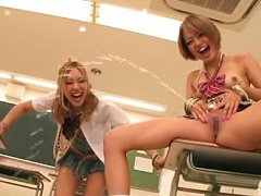 Rena Konishi Asian and gals ride men mouths and di...