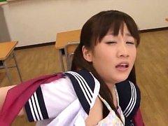 Yuri Shinomiya Asian sucks boner and is fucked by...