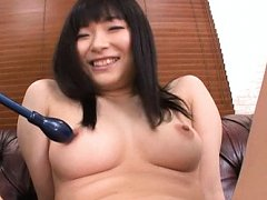 Hina Maeda Asian in bath suit exposes round and ju...