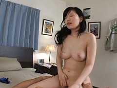 Arisa Ikoma Asian busty has nooky licked before st...