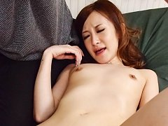 Mai Shirosaki Asian with juicy boobs is pumped in...