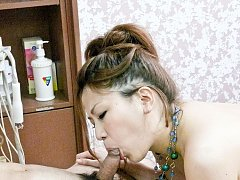 Yuki Aida Asian has pussy fingered and screwed by...