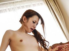 Mai Shirosaki Asian with cock in mouth is doggy st...
