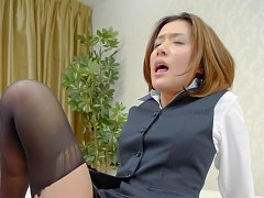 Emi Orihara Asian with firm cans sucks dick and ha...