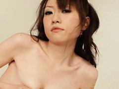 Ryo Kaede Asian takes penis between titties before...