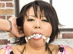 Haruka Uchiyama Asian gets finger in asshole and b...