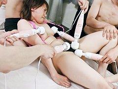 Kana Mimura Asian has to take so many vibrators on...