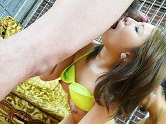 Mariru Amamiya Asian is aroused with vibrator and...