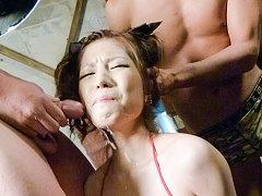 Tsubasa Aihara Asian is aroused to max with vibrat...
