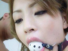 Tiny Yuu Mahiru rides cock with her tight tasty as...