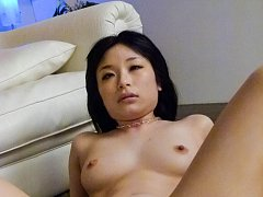 Hina Maeda Asian is drilled on the floor after exp...