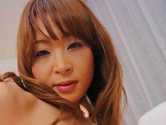 Hikaru Wakabayashi Asian busty fucks her poonanie...