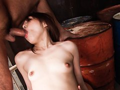 Rino Mizusawa spreads her legs for a hard dick fuc...