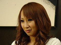 Anna Mizukawa Asian with vibrator in ass hole is f...