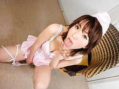 Airi Nakajima Asian has cum pouring from mouth aft...