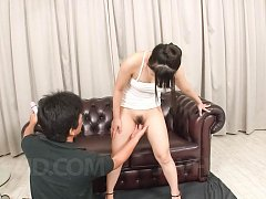 Koyuki Ono Asian has cunt under huge teasing with...