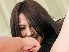 Imai Yoshimi Asian with hot cans has pussy shaved...
