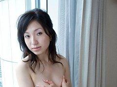 Nana Kurosaki Asian in socks only is pumped in hai...