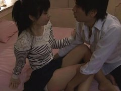 Jav Asian babe has nipples squeesed while is pumpe...