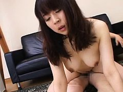 Otone Igawa Asian has pussy fingered and licked in...