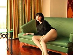 Yuuri Morishita Asian with hot behind fondles her...